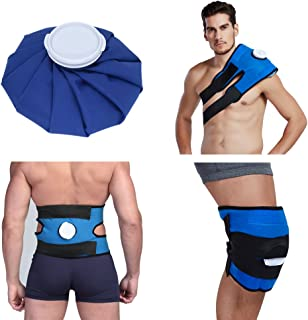 Koo-Care Pain Relief Hot Cold Therapy Reusable Ice Bag Pack & Wrap for Head, Shoulder, Back, Knee etc.(9