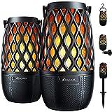 DBSOARS Torch Light Bluetooth Speaker, Outdoor/Indoor LED Flame Atmosphere Speaker, Sync...