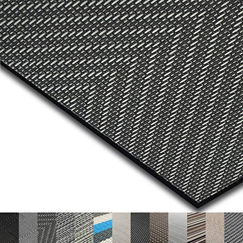 casa pura® Indoor- und Outdoor-Bodenbelag Catania | kunstvoll gewebter Terrassenteppich | als Outdoor Teppich Meterware oder Läufer für innen | 40 Größen (60x100cm)