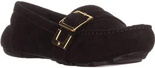 Nine West Blueberry Flat Loafers, Black Suede