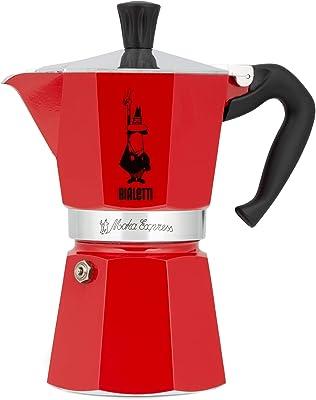 Bialetti Moka Express Freestanding Manual Drip Coffee Maker, Aluminum