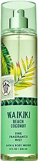 Bath and Body Works WAIKIKI - BEACH COCONUT Fine Fragrance Mist 8 Fluid Ounce (2019 Edition)