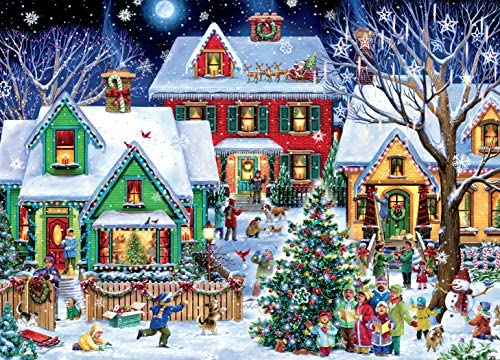 Ceaco Classic Christmas Christmas Houses Jigsaw Puzzle 1000 Pieces product image