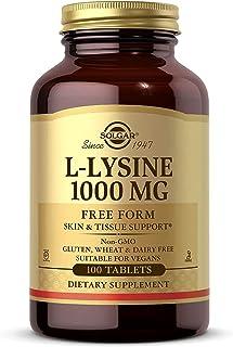 Solgar L-Lysine Free Form 1000 mg - 100 Tablets