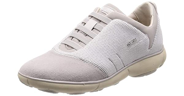 Geox Women/'s D Sukie B Low-Top Sneakers, 5 UK Dk Burgundy C7357