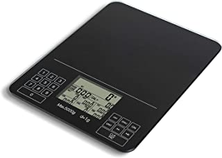 Digital Kitchen Scale Nutrition Scale Smart Food Scale Calories Protein Carbohydrate Grams Ounces for Baking Cooking YuXinAE