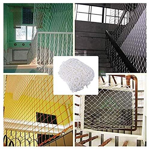wit stofscherm kind veiligheid net wit Decor Barrier beschermende geweven touw klimmen touw vrachtwagen vrachtwagen maken mesh netten, voor hek plafond hek bescherming net nylon geweven gaas