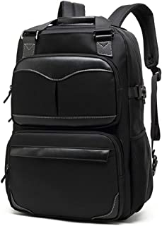 Men Laptop Backpack Carry on Backpack College Bag Fits Up to 17.3 Inch Laptop Casual Rucksack Waterproof Backpack Daypacks,B