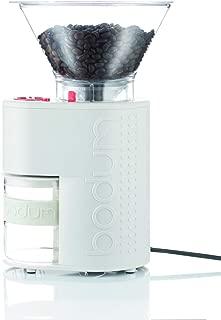 Bodum - Molinillo de café, color blanco