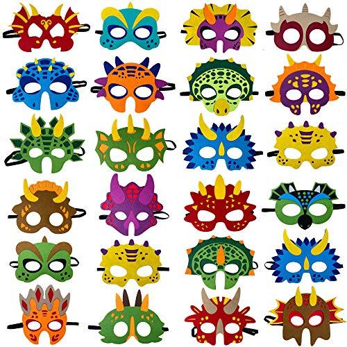 Dinosaur Masks Party Supplies (24 P…
