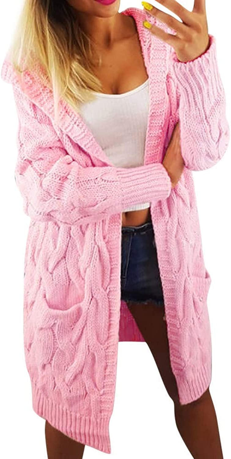 Cloudless Women Long Sleeve Oversized Loose Knitted Sweater Cardigan Outwear Coat