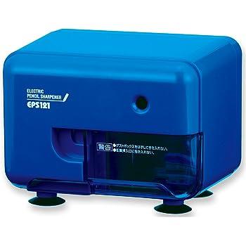 アスカ Asmix 鉛筆削り 電動シャープナー ブルー EPS121B
