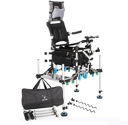 ZDYYCNC Chaise De Camping,Professionnel Chaise De Pêche Tabouret Pliable Portable Chaise De Camping Pliante