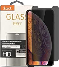 (2 Pack) Anti Spy Tempered Glass Screen Protector Compatible with Privacy/iPhone XR