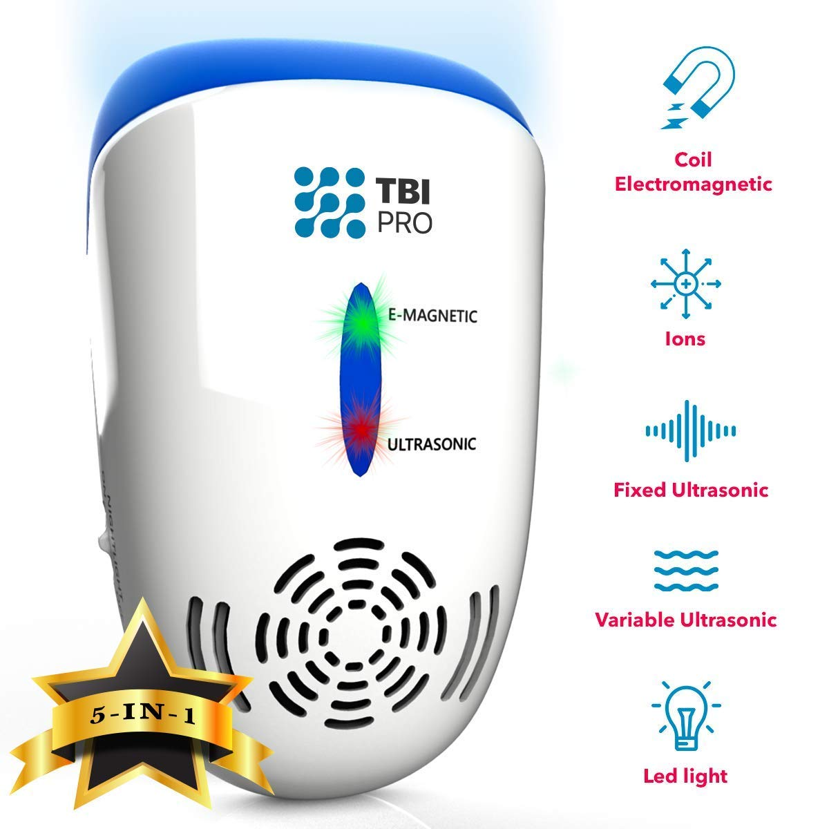 TBI Pro Ultrasonic Repeller Plug