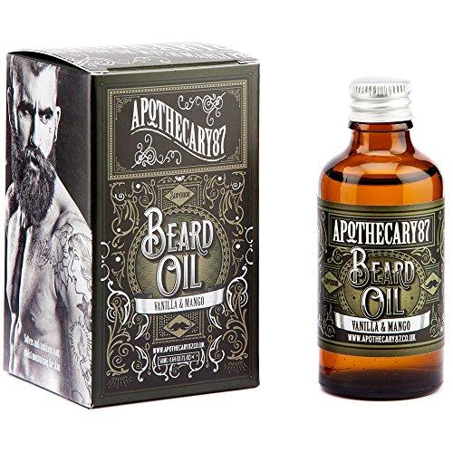 Apothecary87 Vanilla & Mango Conditioning Beard Oil - Bartöl (10ml)