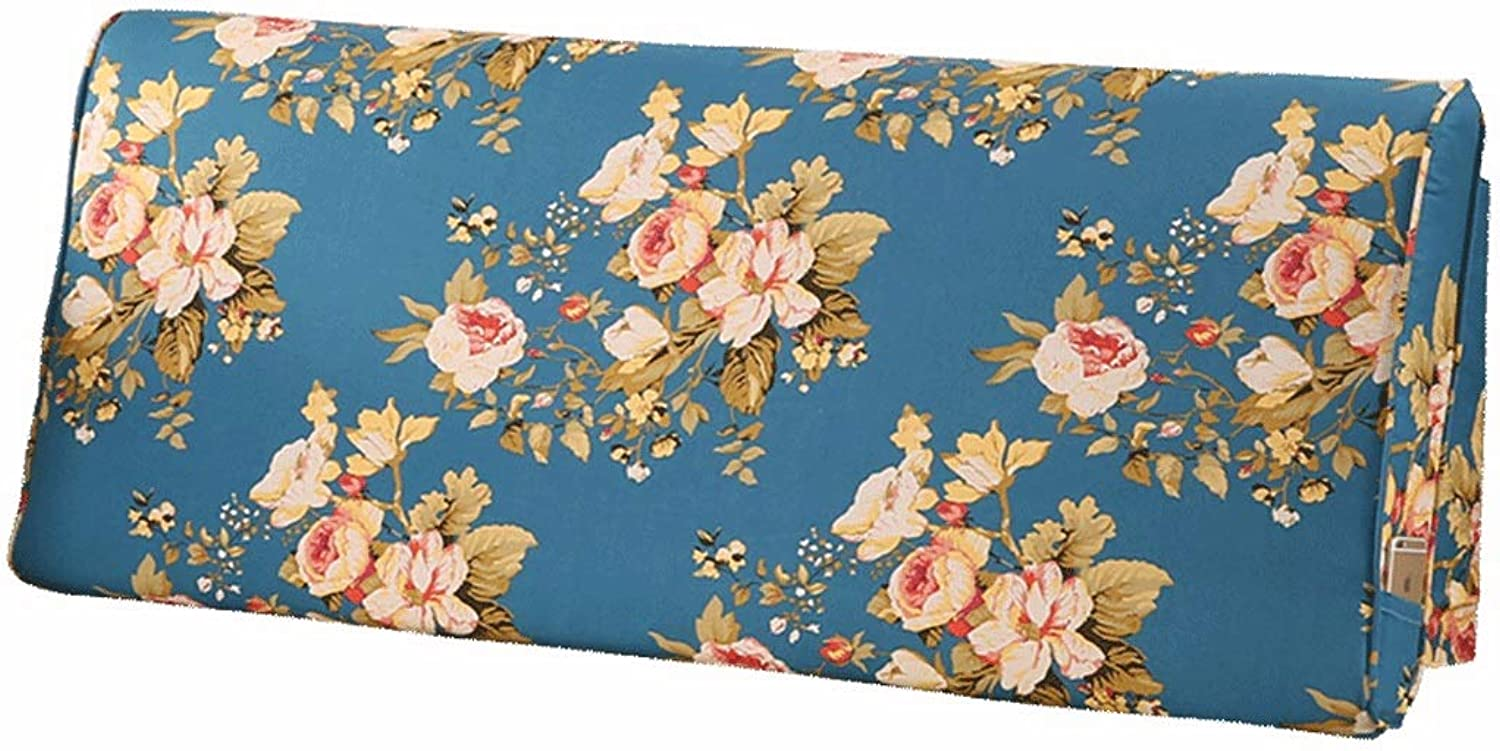 Pillow Bed Head Cushion Lumbar Support-N4f6J396 Curved Soft Bag Predection Cervical greenebra Bed Soft Bag Waist Bed Pillow Backing Lumbar Pad (Size   120CM)