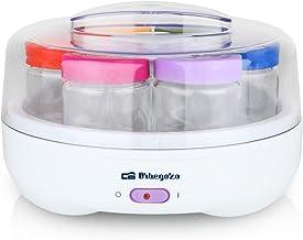 Orbegozo YU 2225 2225-Yogurtera, Capacidad para 7 yogures,