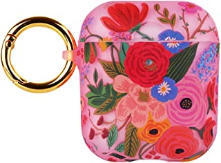 Rifle Paper CO. AirPods Case - Compatible with Apple AirPods Series 1 & 2 - Garden Party Blush