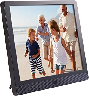 Pix-Star 10 Inch Wi-Fi Cloud Digital Picture Frame with IPS high resolution display, Email, iPhone iOS and Android app, DL...