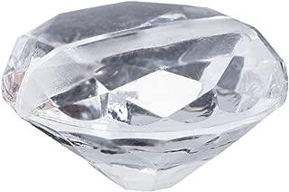 Darice DT6632B David Tutera Place Card Holder, Acrylic Diamond, 1.5 by 0.75-Inch, 6 Per Pack