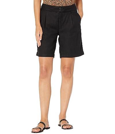 NYDJ Petite Petite Modern Bermuda Shorts in Stretch Linen Twill