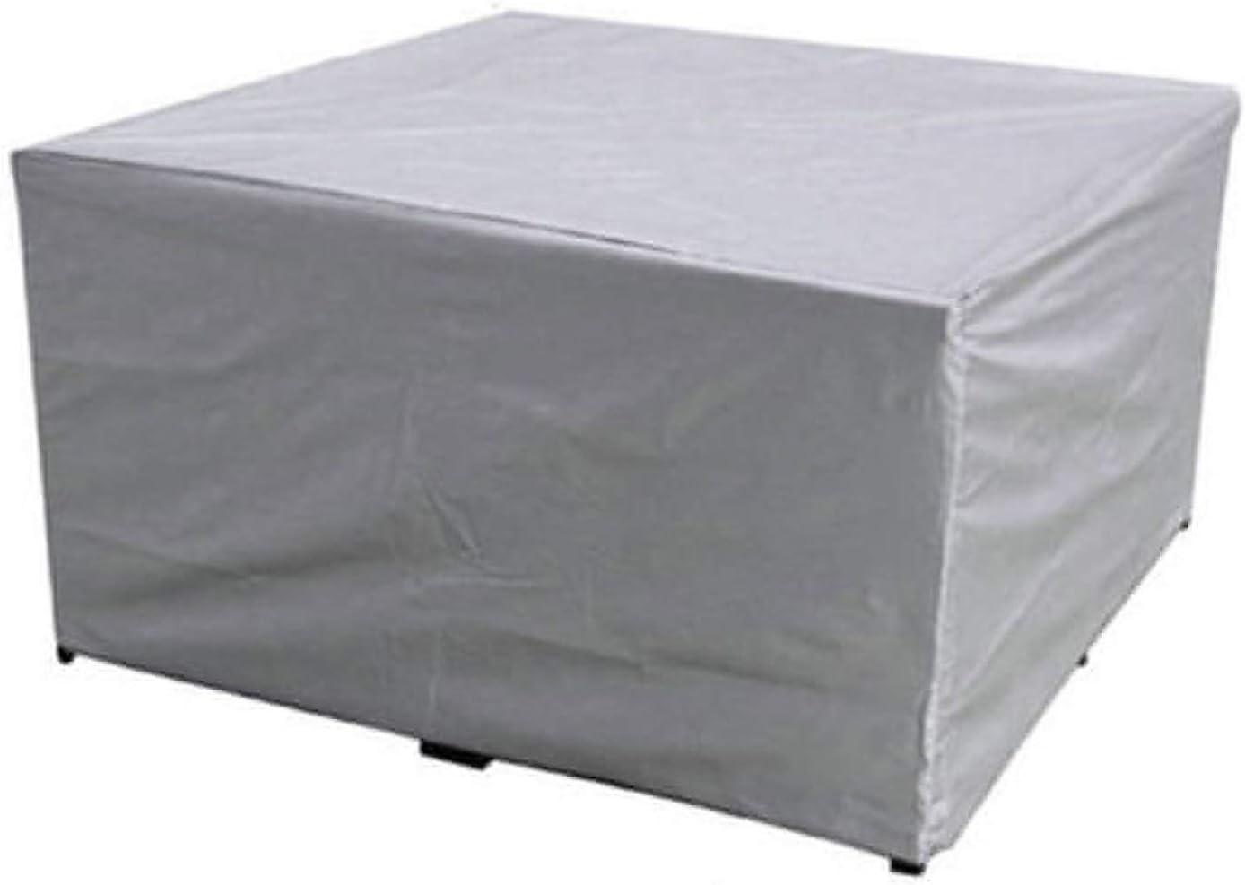 Ledph Funda de Muebles de jardín, Conjunto Cubierta Mesa Silla Exteriores, Cubiertas para Mueble de terraza, Funda Protectora Sofa copertura Impermeable para mesas Exterior Anti-UV,220 * 220 * 85cm