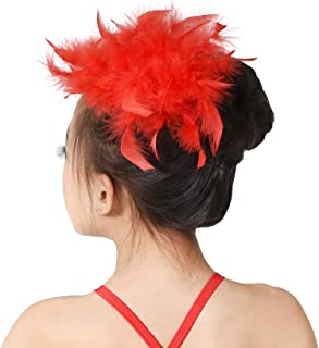 Girls Headbands Floral Feather Headpiece Hair Accessories