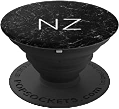 NZ Monogram 2 Letters Double Initial Alphabets Monogrammed PopSockets Grip and Stand for Phones and Tablets