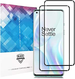 Screen Protector for Oneplus 8 Pro,High Definition[9H Hardness] [Scratch Resistant] Tempered Glass Screen Protector for On...