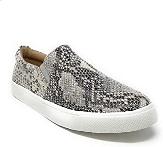 Paris Hill Women's Perforated Slip-On Sneaker Casual Flat Walking Shoes