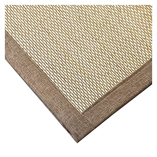 Personalizable Alfombra Tejida de Bambú Alfombra por Cuarto Sala De Estar Balcón Quedarse En Casa Estilo Japones Alfombra De Estera...
