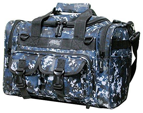 NEXPAK 38,1 cm 1200cu.in Tactical Duffel Range Bag TF115 DMBK Navy Blue Digital Camouflage