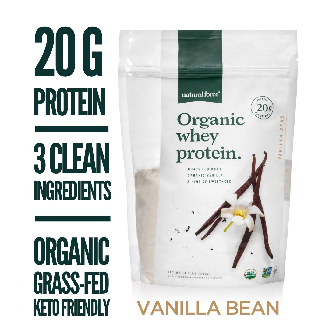 Natural Force%C2%AE Organic Protein Tasting