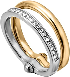 Esprit Tara Ring For Women , Stainless Steel - Esrg00082218, 18 mm