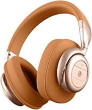BÖHM Wireless Over Ear Cushioned Headphones with Active Noise Cancelling - B76 (Tan)