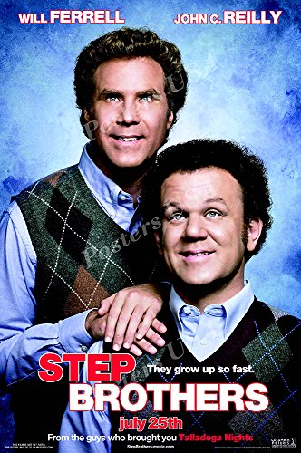 Posters USA Step Brothers Movie Poster GLOSSY FINISH - MOV516 (24' x 36' (61cm x 91.5cm))