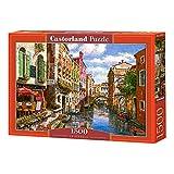 Castorland-La Pergola-Puzzle (1500 Piezas), Color carbón (C-151578-2)