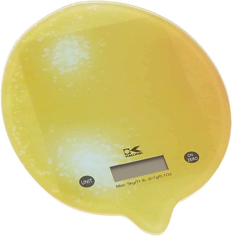 Kalorik EKS 42441 Y Lemon Digital Kitchen Scale Small Yellow