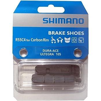 633 Set pattini freno compatibili SHIMANO//Ultegra//105SC//Dura-Ace colore argento