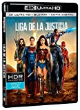 Liga De La Justicia 4k Uhd [Blu-ray]