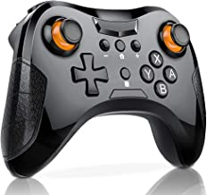 BEBONCOOL Wireless Switch Pro Controller for Nintendo Switch, Pro Switch Game Controller Supporting Motion Controls, Dinofire High Performance Remote Gamepad by HUIMEOW
