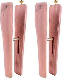 FootFitter Aromatic Cedar Best Boot Shapers, Keep Boots Standing Up and Prevent Creasing - CB22