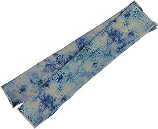 Healifty クーリングアームスリーブサンUVプロテクターアームカバーアウトドア用(ブルー)