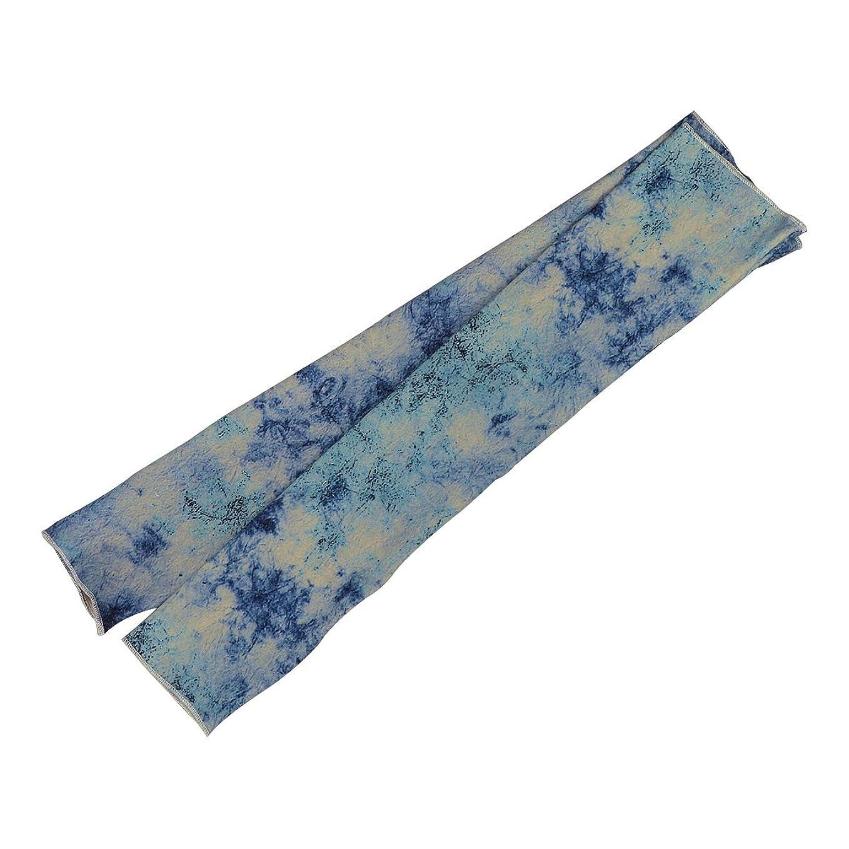 才能硫黄ブランチHealifty クーリングアームスリーブサンUVプロテクターアームカバーアウトドア用(ブルー)
