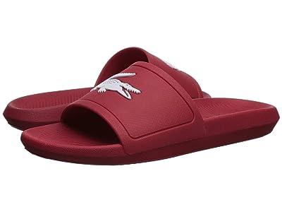 Lacoste Croco Slide 119 1 (Red/White) Men