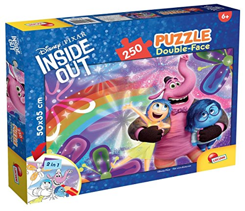 Lisciani Giochi 55579 - Puzzle DF Plus 250 Inside out Joy e Sadness