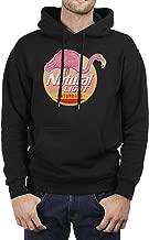 FUEWJFDIW Wool Warm Fleece Hooded Sweatshirt for Mens' Natural-Light-Logos- Hoodie Sweatshirt