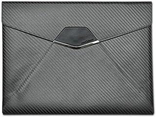 "monCarbone Sleek Classic Protective Carbon Fiber Laptop/Tablet Sleeve Travel Bag Water Repellent - iPad Pro 12.9"""