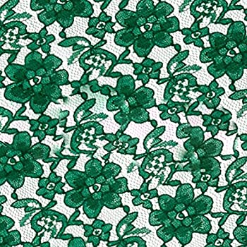 Best green lace fabric Reviews